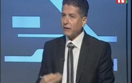 مقابلة تلفزيونية على تلفزيون لبنان مع رئيس نقابة مستوردي السيارات المستعملة في لبنان ايلي قزي