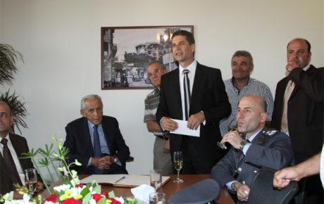 إفتتاح مكتب نقابة مستوردي السيارات المستعملة في لبنان برعاية وزير العمل الأستاذ سليم جريصاتي, في سن الفيل