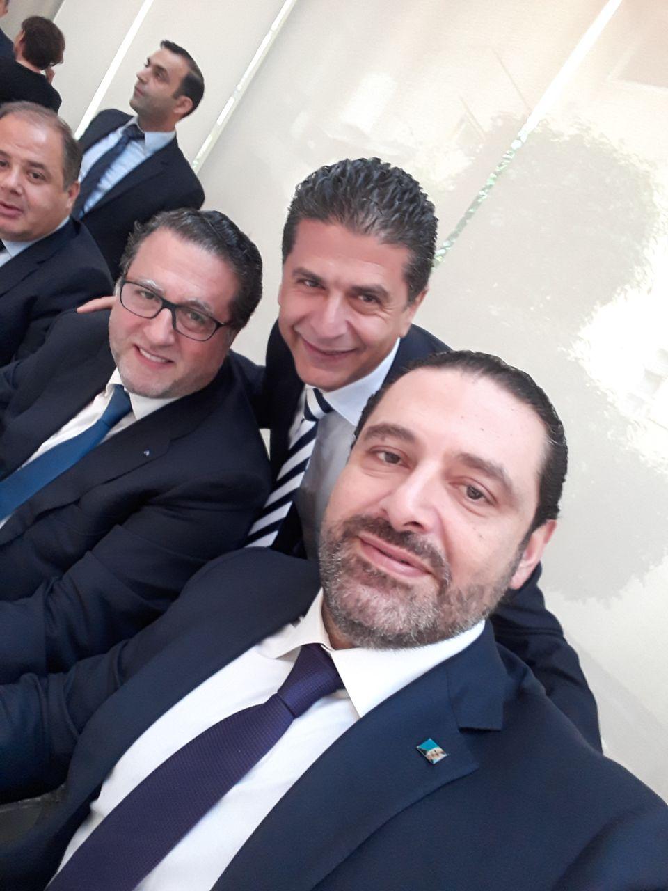 سلفي في غرفة التجارة والصناعة في بيروت بتاريخ  15/01/2018