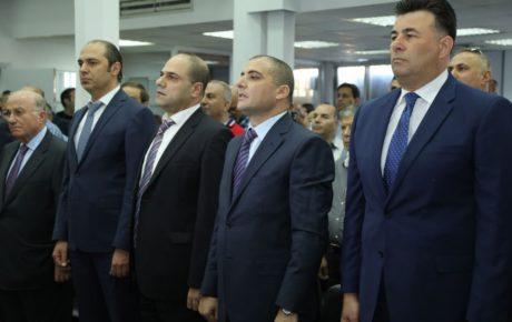 المؤتمر الصحفي مع مدير عام الجمارك بدري ضاهر ورئيس نقابة مستوردي السيارات