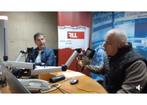 Elie Azzi live on Radio Free Lebanon - RLL